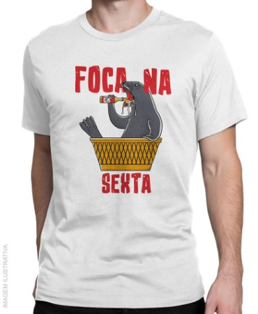 """Camiseta Foca na """"Sexta"""""""
