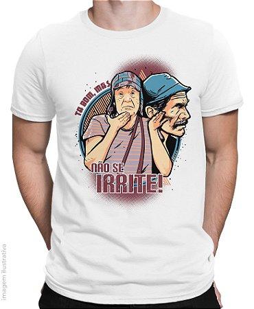 Camiseta Chaves não se Irrite