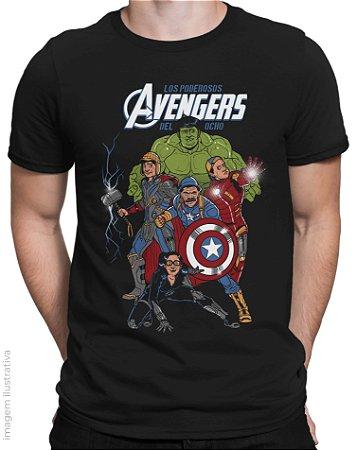Camiseta Avengers Del Ocho