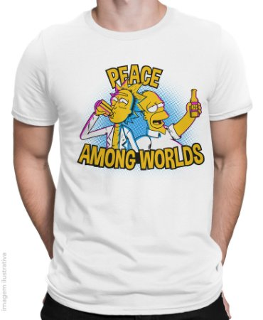 Camiseta Peace Among Worlds