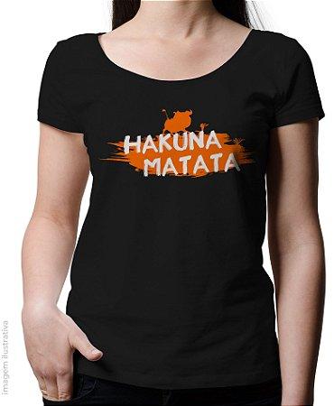 Blusinha Hakuna Matata