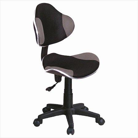 Cadeira para Escritório Anatômica Preta/Cinza Bulk