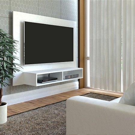 Painel para TV até 47 Polegadas com Nicho Flash Artely  Branco