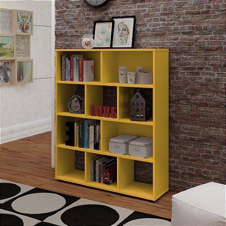 Estante Artely Book Amarelo