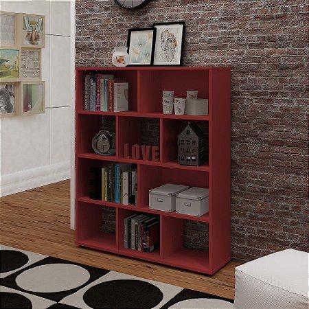 Rack Book Vermelho