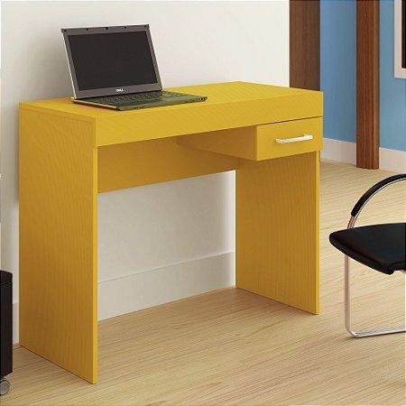 Mesa para Notebook Cooler 1 Gaveta Amarela - Artely