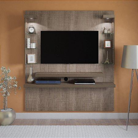 Painel para TV até 47 Polegadas com LED Atlantis Artely Canela