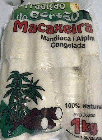 TRADIÇÃO DO SERTÃO - Macaxeira descascada congelada (pacote 1kg)