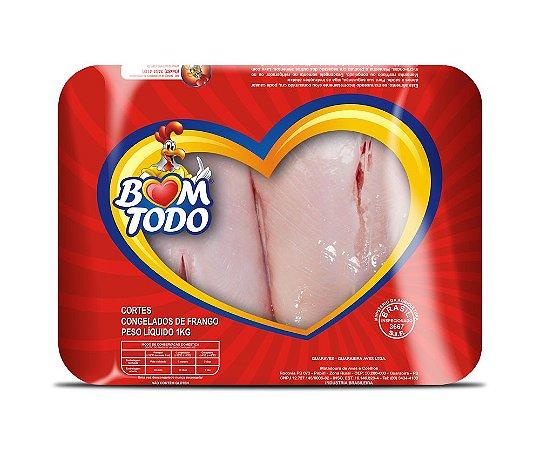 [FRANGO BOM TODO] Filé de peito congelado (bandeja 1kg)