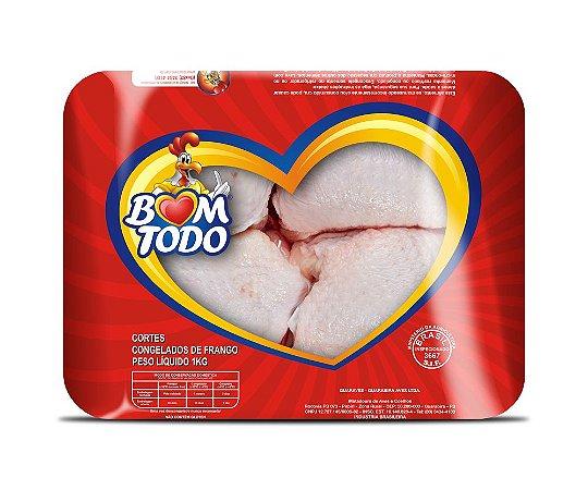 [FRANGO BOM TODO] Sobrecoxa congelada (bandeja 1kg)