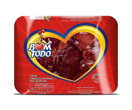 [FRANGO BOM TODO] Fígado congelado (bandeja 1kg)