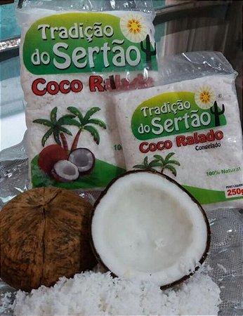 TRADIÇÃO DO SERTÃO - Coco ralado (pacote 250g)