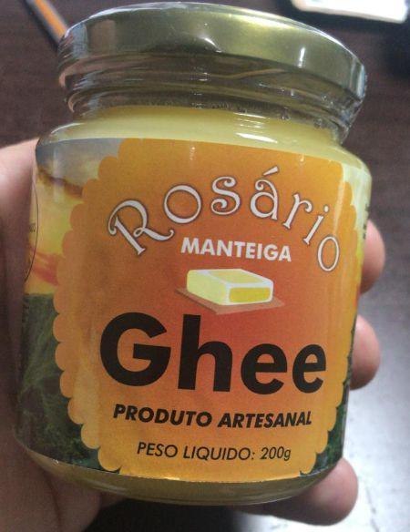 ROSÁRIO ALIMENTOS FUNCIONAIS - Manteiga Ghee (200g)