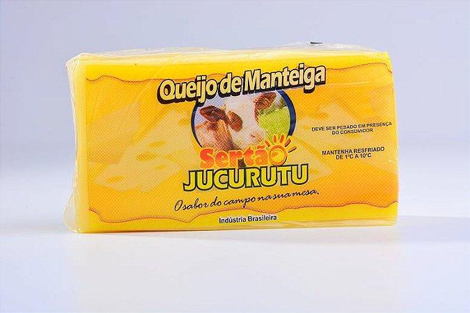 [SERTÃO JUCURUTU] Queijo de Manteiga (aprox. 500g)