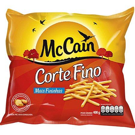 Batata McCain palito corte fino congelada  (400g)