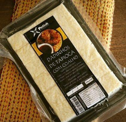 [PETISK] Dadinho de tapioca com queijo de coalho (24 unidades)