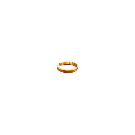 Anel Anastácia Prata 925 com Banho de Ouro