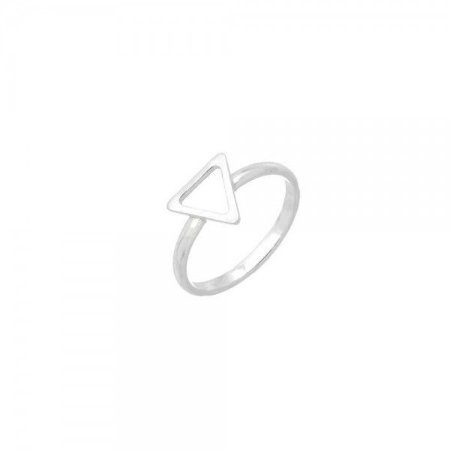 Anel Falange Triângulo Prata 925