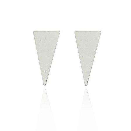 Brinco Triângulo Isósceles Prata 925