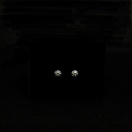 Brinco Microzircônias Cartier Prata 925