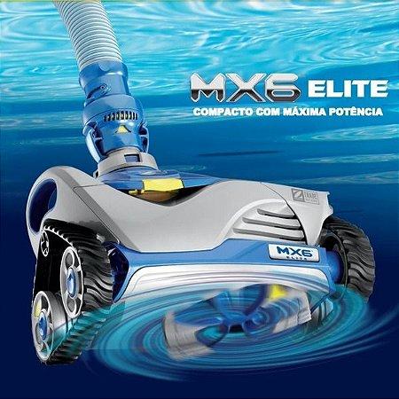 Robô Aspirador de Limpeza Piscina Hidráulico MX6 Elite