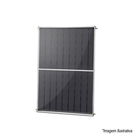 Coletor Aquecedor Solar 1.5 x1 Metros 114,10kWh/mês Classe B