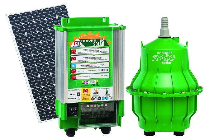 Kit Bomba Solar Anauger Lagos e Cisternas R100 8.600 L/Dia