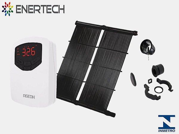 Kit P/ Aquecimento Solar Piscina até 7 m²