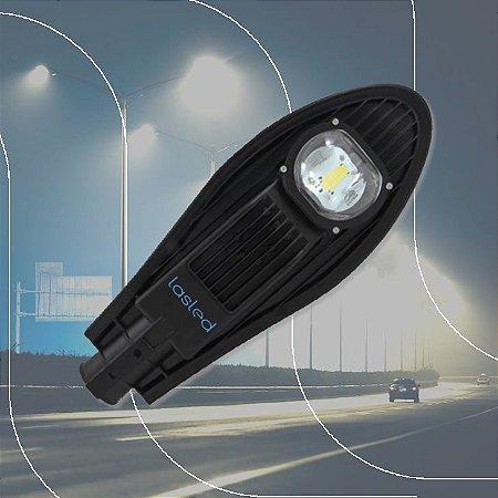 Luminária LASLED Pública Street Pétala 75 Watts - LED Chip Philips