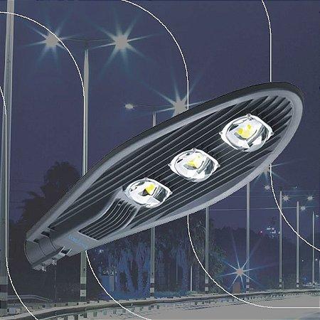 Luminária LASLED Pública Street Pétala 300 Watts - LED Chip Philips