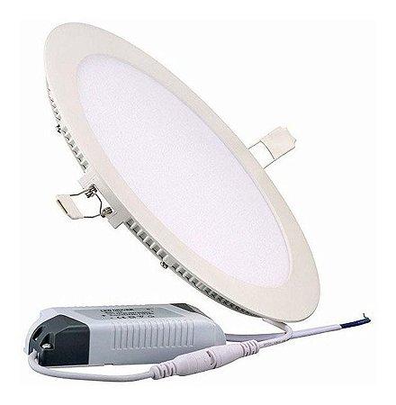 Embutido LED Downlight Slim 18 Watts - Redondo