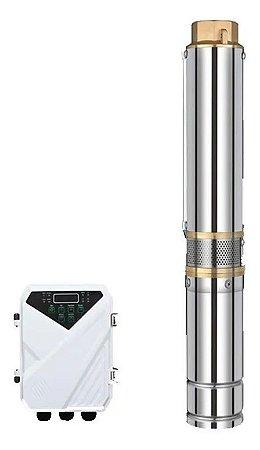 Bomba Solar 1500W 4 Polegadas  2CV - 60mca 130.000 L/dia