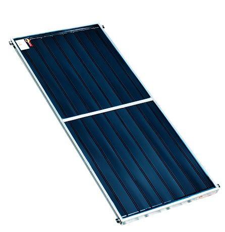 Placa Coletora de Aquecimento Solar Banho 2 X 1 Metros - Vidro e Inox
