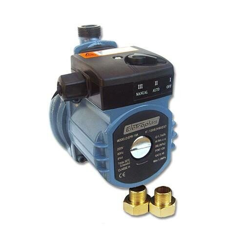 Bomba Pressurizadora 120 watts vazão máxima 1,7 m³/h - EPR-18A
