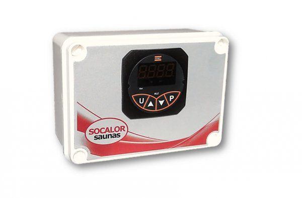 Quadro Termostato Digital de Temperatura Sauna Eletrica Vapor