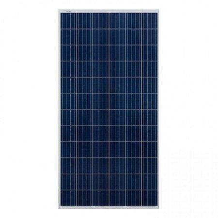 Painel Solar Fotovoltaico Policristalino 370Wp - Produção Nacional 25 Anos de Garantia