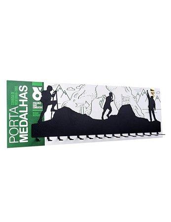 PORTA MEDALHAS - TRAIL RUN