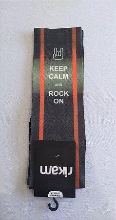 RIKAM - MEIA KEEP CALM - 39 A 42