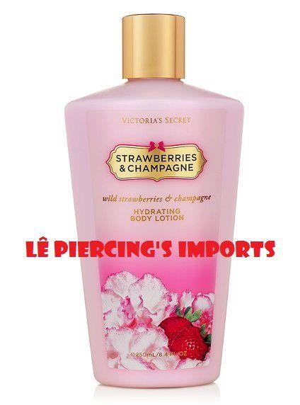Hidratante Corporal Strawberries And Champagne Victoria's Secret Body Lotion 250ml