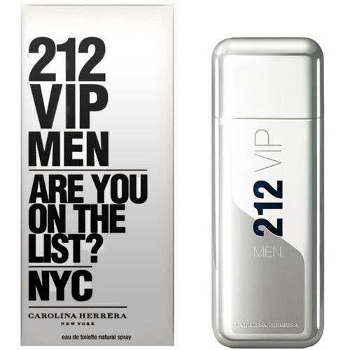 Perfume 212 Vip Men 100ml Carolina Herrera Eau de Toilette Masculino