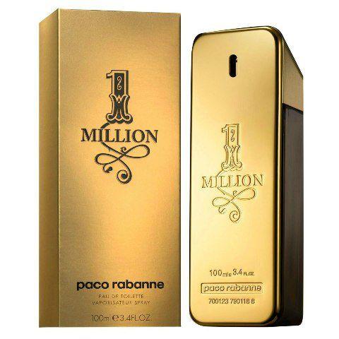 Perfume One Million 100ml Paco Rabanne Eau de Toilette Masculino