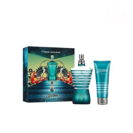 Perfume Jean Paul Gaultier Le Male 125ml + Gel de Banho 75ml Jean Paul Gaultier Eau de Toilette Masculino