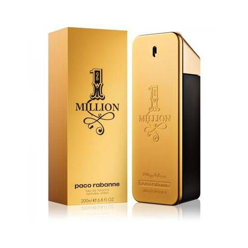 Perfume One Million 200ml Paco Rabanne Eau de Toilette Masculino