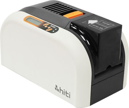 Impressora Cartão PVC HiTi CS-200e com Módulo Flipper