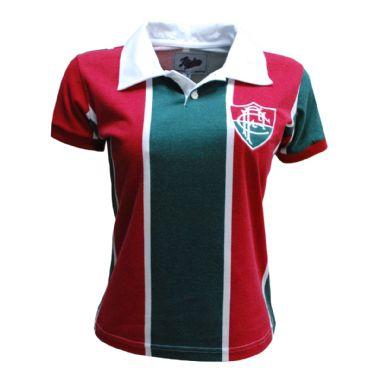 Camisa Retrô 1913 Fluminense Feminina