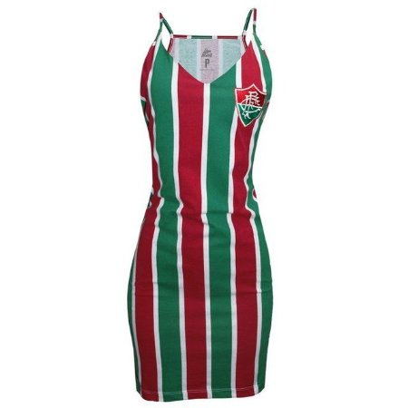 Vestido Tricolor Fluminense