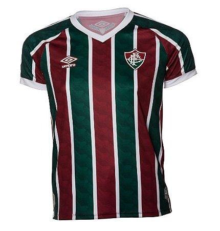 Camisa Tricolor Feminina Fluminense UMBRO