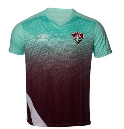 Camisa Fluminense Treino Verde UMBRO