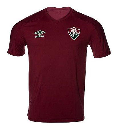 Camisa Fluminense Aquecimento Vinho UMBRO