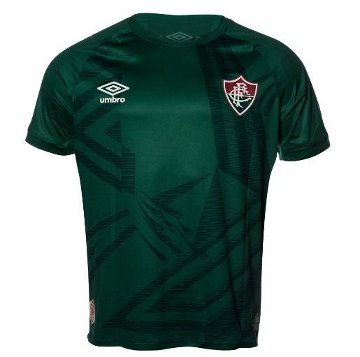 Camisa Goleiro Fluminense Verde/Preta UMBRO